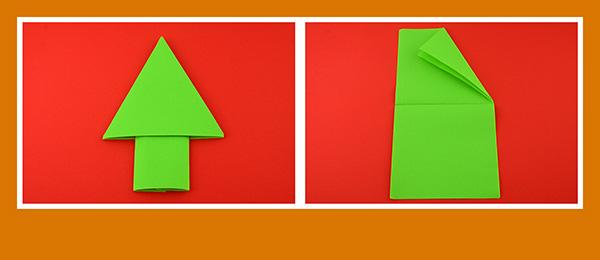 Grüne Papierservietten