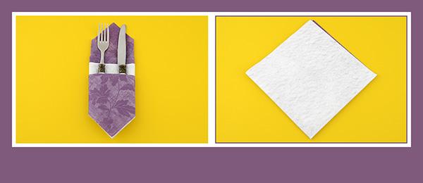 papierservietten falten sch ne bestecktasche. Black Bedroom Furniture Sets. Home Design Ideas