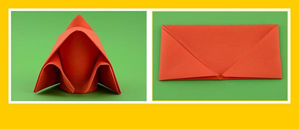 Papierservietten falten zum Geburtstag