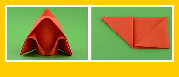 Papierservietten falten zum Kindergeburtstag