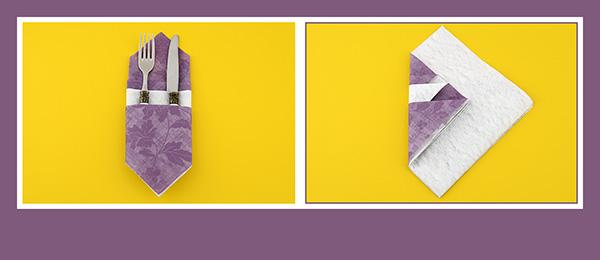 Besteck In Servietten Einwickeln besteck in serviette einwickeln und servietten falten einfacher