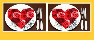 servietten-falten-herz-valentinstag