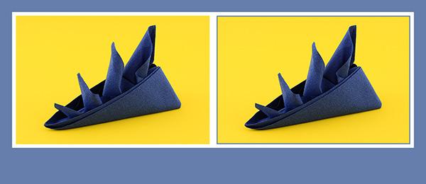 papierservietten falten figuren falten aus papierservietten faltanleitungen mit fotos. Black Bedroom Furniture Sets. Home Design Ideas