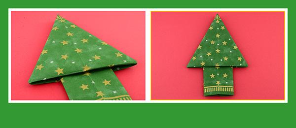 Servietten Weihnachten Tischdeko Tannenbaum